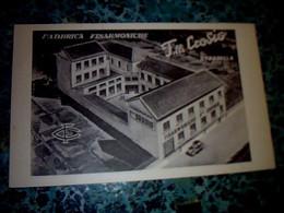 Italie Carte Postale  Cpa  Publicitaire Non ècrite   Fabrique D 'accordéon   Filli  Crosio à Stradella - Non Classés