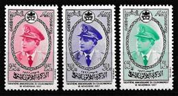 MAROC 1957 Y&T N° 380 A 382 N** - Morocco (1956-...)