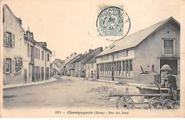 CHAMPAGNOLE - Rue Des Jeux - Très Bon état - Champagnole