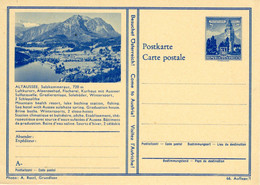 Postkarte Besuchet Österreich ÖS 1,80 Altaussee - Interi Postali