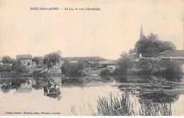 RION DES LANDES - Le Lac Et Vue D'Ensemble - Très Bon état - Sonstige Gemeinden