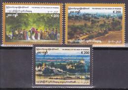 Myanmar 2021, Postfris MNH, Independence, Aged 73 - Myanmar (Burma 1948-...)