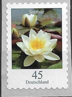 2018  Deutschland Germany Mi.  3376 **MNH Blumen  Weiße Seerose (Nymphaea Alba) - Unused Stamps