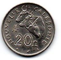 Nouvelle Calédonie 20 Francs 1967 SUP - New Caledonia