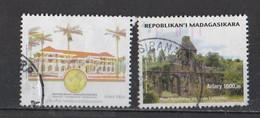 Madagascar  2012  Haut Fourneau De Jean Laborde Et Bâtiment Officiel - Madagascar (1960-...)