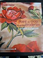 Point De Croix Et Autres Broderies +++COMME NEUF+++ LIVRAISON GRATUITE+++ - Unclassified