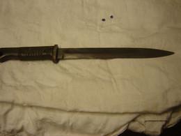 Baïonnette Allemande II Guerre ( Pas Complète) - Knives/Swords