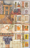 Greece Mount Athos FDC 2013 Complete Year -  Decorartions - FDC