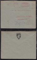 Deutsches Reich 1923 AFS 1000M Meter Freistempler Brief Pößneck 14.8.23 Nach Marburg - Covers & Documents