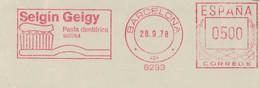 Selgin Geigy Pasta Dentifrica Salina 1978 8293 - Zahnpaste Zahnbürste - Parapharmazieprodukt Mit Salzbeigabe - Medicina