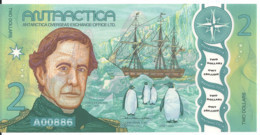 ANTARCTICA 2 DOLLARS 2020 UNC - Other - America