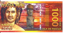 ILES DE PAQUES 1000 RONGO 2011 UNC - Other - America