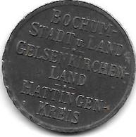 *notgeld Bochum 50  Pfennig  1918   Fe   49.3a - Andere