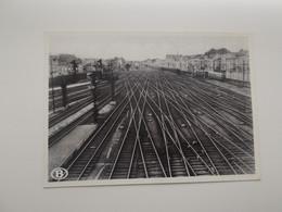 BRUSSEL-NOORD: Sporencomplex Aan De Uitrij Van Het Station - NMBS - SNCB - TREIN - TRAIN - Trains
