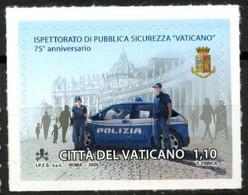 2020 - VATICANO - 75° ANNIVERSARIO ISTITUZIONE ISPETTORATO PUBBLICA SICUREZZA VATICANO - JOINT ISSUE. MNH - Gezamelijke Uitgaven