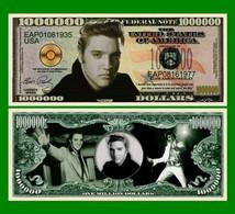 USA 1 Million Dollar Novelty Banknote 'Elvis Presley' - Music Legends - NEW - UNCIRCULATED & CRISP - Other - America