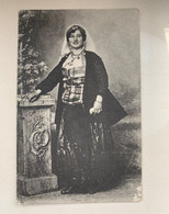 Scutari Shkodra 310 Skutari Woman Traditional Costume Katolike Catholic - Albania
