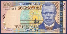 MALAWI 500 KWACHA P-56a Reverend John Chilembwe, Lake Malawi - Lilongwe 2005 UNC - Malawi