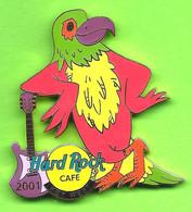 Pin's Hard Rock Café Key West Guitare Perroquet - HRC388 - Musique