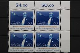 Berlin, MiNr. 627, 4er Block, Ecke Rechts Oben, Postfrisch / MNH - Nuevos
