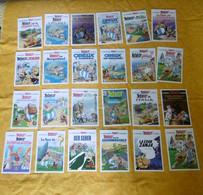 Bande Dessinée - Lot 46 Cartes Allemandes Astérix - Comicfiguren