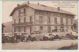 Vosges WISEMBACH Hôtel Belle-Vue  Mertz-Dumoulin Cotl De Ste Marie Aux Mines (voitures Et Autocar En Gros Plan) - Andere Gemeenten