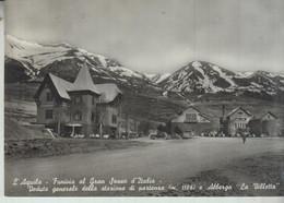 L'AQUILA  FUNIVIA AL GRAN SASSO  D'ITALIA  STAZIONE DI PARTENZA  VG  1958 - L'Aquila