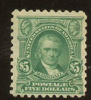 ESTADOS UNIDOS   YVERT 157 (*) Mng  5 Dólares Verde  1902/1903  NL786 - Unused Stamps