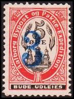 AALBORG BYPOST. 1891. 3/5 ØRE. Hinged. No Gum. (DAKA 35) - JF420121 - Lokale Uitgaven