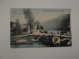 STAVELOT: Le Pont De Challes - Paysage D'Ardenne (En Couleur) - La-Roche-en-Ardenne