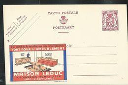 Publibel Neuve N° 652  ( Maison LEDUC  - Liège - Meubres D'intérieurs) - Publibels