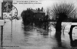 SEDAN - La Crue De La Meuse - Maisons Isolées ( Quartier Du Petit- Pont ) - Sedan