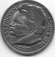 *notgeld Bonn 50  Pfennig  1920   Fe   51.3a/d - Andere