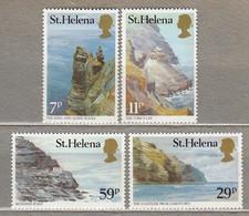 ST. HELENA ISLAND 1983 Landscapes Sea Mountains MNH(**) Mi 371-374 #28306 - Saint Helena Island