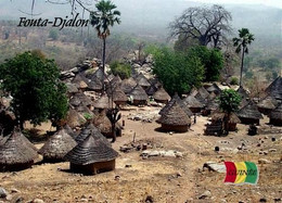 Guinea Fouta-Djalon Huts New Postcard - Guinée