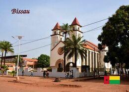 Guinea Bissau Our Lady Of Calendaria Cathedral New Postcard - Guinea-Bissau