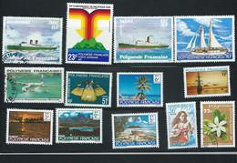 Lot De 13 Timbres De Polynésie Française Neuf Ou Oblitérés -   Pa 22701 - Ungebraucht