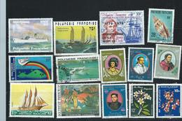 Lot De 14 Timbres De Polynésie Française Neufs Ou Oblitérés -   Pa 22702 - Ungebraucht