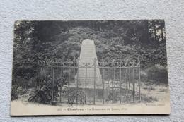 Cpa 1917, Chanteau, Le Monument Du Turco 1870, Loiret 45 - Otros Municipios