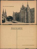 Ansichtskarte Köln Justizgebäude Straße Dom 1922 - Koeln