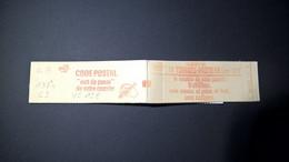 Carnet 1974 C2 GB Sabine 10 X 1,20 FF Conf N°4 Daté 4? 25.4.79 Carnet OUVERT TB Etat VC 12 Euros.Voir Description. - Usados Corriente