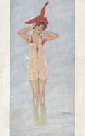 Illustratori  - Kirchner R. - Giovane Bagnante  - F. Piccolo  - Nuova - Molto Bella - Kirchner, Raphael