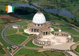 Ivory Coast Yamoussoukro Basilica Aerial View Cote D'Ivoire New Postcard Elfenbeinküste AK - Elfenbeinküste