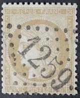 59 (cote 8 €) Obl GC 1259 Cusset (3 Allier ) Ind 3 ;  Frappe Très Nette Et Centrée - 1849-1876: Classic Period