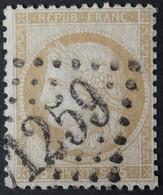 55 (cote 5 €) Obl GC 1259 Cusset (3 Allier ) Ind 3 ;  Frappe Nette - 1849-1876: Klassieke Periode