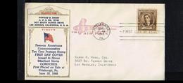 1940 - USA FDC Mi. 479 - Famous People - Ethelbert Nevin - Composer [P04_947] - 1851-1940