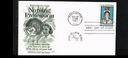 1961 - USA FDC Mi. 819 - Health & Medicine - Nurses - Nursing Profession [P08_609] - 1961-1970