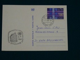 United Nations 1980 Carte Postale VF - Covers & Documents