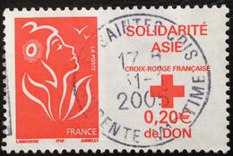 TIMBRES   DE    FRANCE   N° 3745        OBLITÉRÉS  ( LOT: 8629) - 2004-08 Marianne Van Lamouche