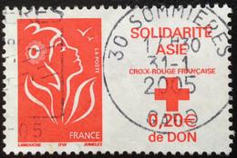 TIMBRES   DE    FRANCE   N° 3745        OBLITÉRÉS  ( LOT: 8632) - 2004-08 Marianne Van Lamouche